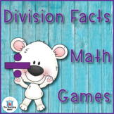 Division Fact Mastery Games and Flash Cards