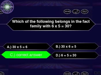 Division Basic Facts Review