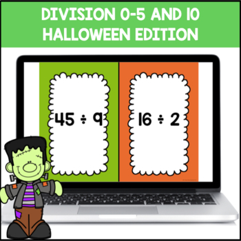 Division Facts 0-5 and 10 (Halloween Edition)