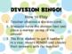 Division Bingo!