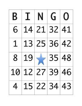 Division Bingo (Double Digit Divisor)