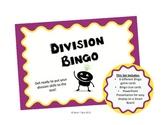 Division Bingo Game Set