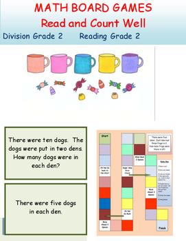 Division Board Game Grade 1