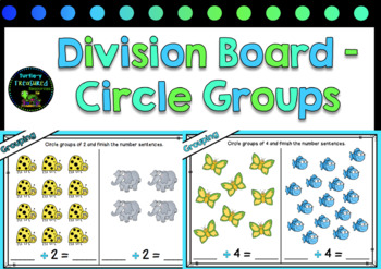 Division Boards- Circle Groups