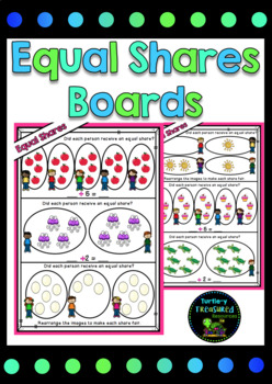 Division Boards- Making Equal Shares
