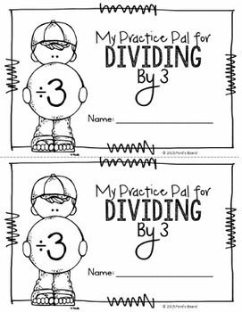 Division Booklets - Practicing Strategies and Building Fluency