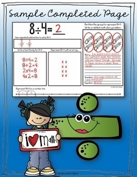 Division Booklets | Practicing Strategies and Building Fluency