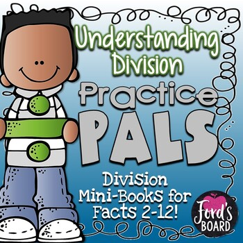 Division Facts Booklets for Practicing Strategies and Buil