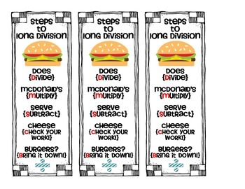 Division Bookmark