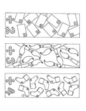 Division Bookmarks Coloring Pages Two Through Ten Math PDF Printable
