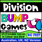 Division Bump Games: 39 Division Facts Games [Australian UK NZ Edition]