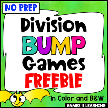 Division Free: Division Games No Prep Division Facts Bump Games
