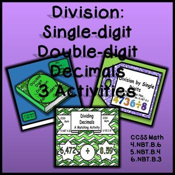 Division Bundle - 3 Activities