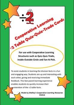 Quiz Quiz Trade Division By 2 Cards