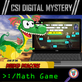 Division Distance Learning CSI Digital Math Mystery Game D