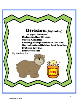 Division Center Activities, Posters, Printables