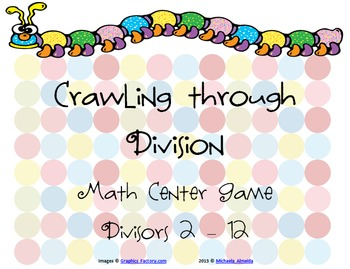 Division Center Game (Crawling through Division: Basic Facts)
