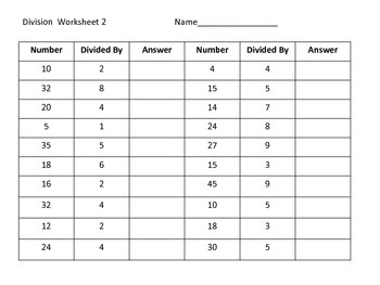 Division Center and Worksheets---football theme