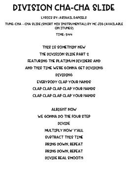 Division Cha-Cha Slide Song