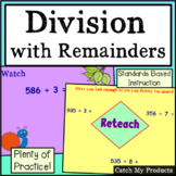 Division with Remainders for Promethean Boards