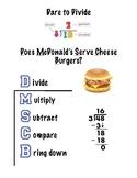 Division Cheat Sheet