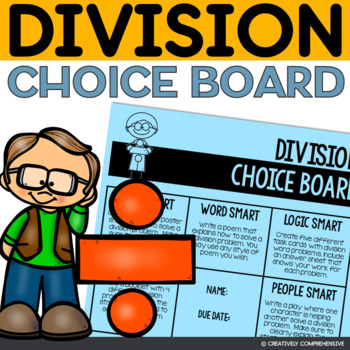 Division Choice Board- Multiple Intelligence Activities
