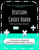 Division Choice Board 5th