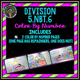Division: Color By Number (5.NBT.6)