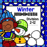Division Color-By-Number Winter Themed