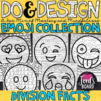 Division Facts Color by Number - Do and Design