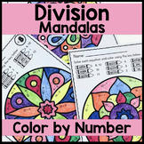 DIVISION Color by Number Mandala Coloring Pages Volume 1