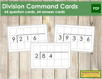Division Command Cards