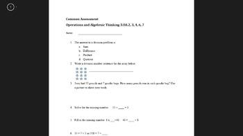 Division Common Assessment