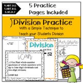 Division Packet- A New Way to Teach Division {4th, 5th, & 6th}