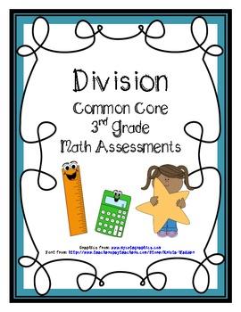 Division Common Core Math Assessments