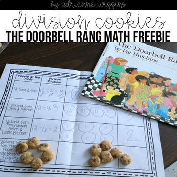 The Doorbell Rang Math Worksheets on Fair Sharing Kindergarten Worksheets