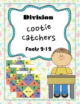 Division Cootie Catcher