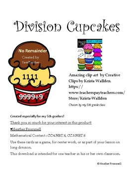 Division Cupcakes