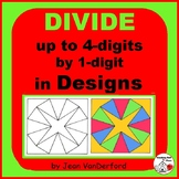 Long Division ... Color-coded GEOMETRIC MATH DESIGNS   COR