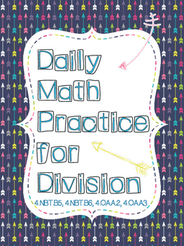 Division - Daily Math Practice