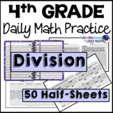 Division Daily Math Review 4th Grade Bell Ringers Warm Ups
