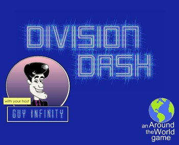 5th Grade Math Drills: Division Dash