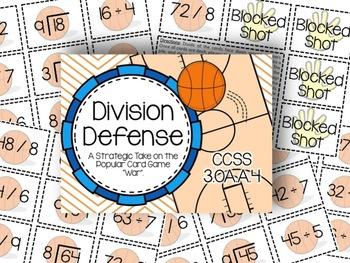 Math Madness: Division Defense