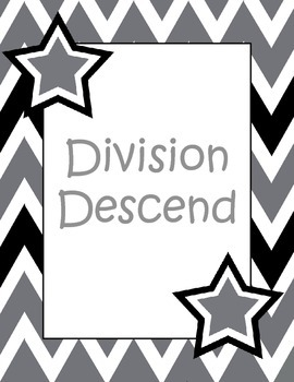Division Descend Game - Division Facts