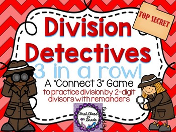 Division Detectives (Division by 2-digit divisor with Remainders)