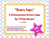 Division - Differentiated Division Beach Board Game