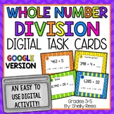 Division Digital Task Cards Google Version