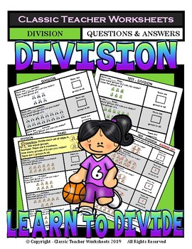 Division - Divide a Set of Objects - Grades 2-3 (2nd-3rd Grade)