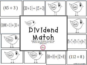 Division Dividend Match