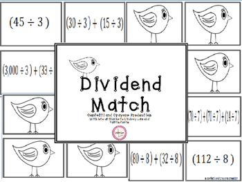Division Dividend Match